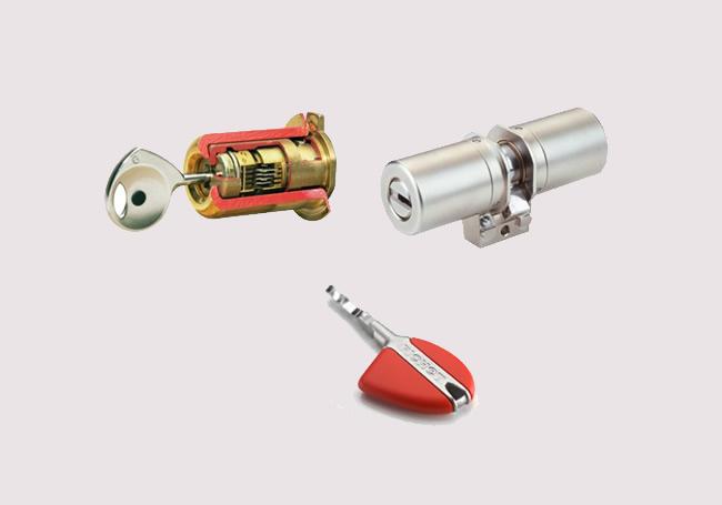 substituir canhão fechadura fichet